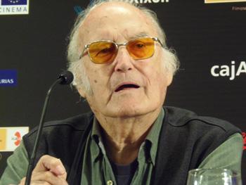 Gil Parrondo durante la rueda de prensa del premio honorífico de la 50 edición