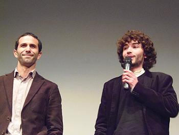 El actor Fernando Martínez y el director Pablo Casanueva