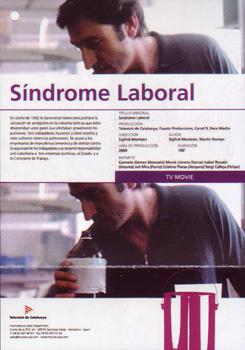 Cartel de la película para televisión Síndrome laboral