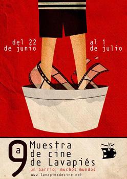 Cartel de la 9ª Muestra de Cine de Lavapiés