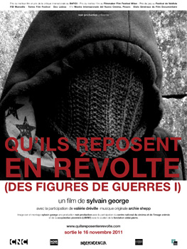 Cartel de la película documental Quils reposent en révolte (Des figures de guerre)