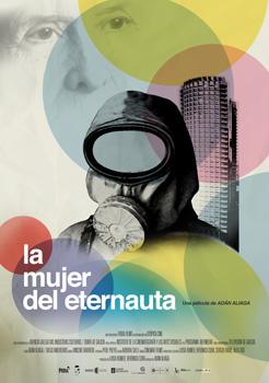 Cartel de la película documental La mujer del Eternauta