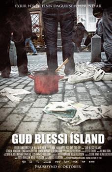 Cartel de la película Dios bendiga Islandia