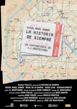 Cartel del cortometraje La historia de siempre
