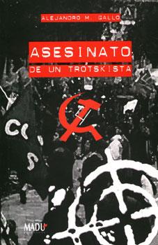 Portada de la novela Asesinato de un trotskista
