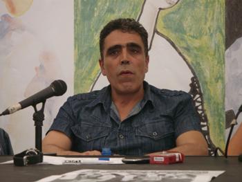 Alejandro Gallo en la Semana Negra de Gijón