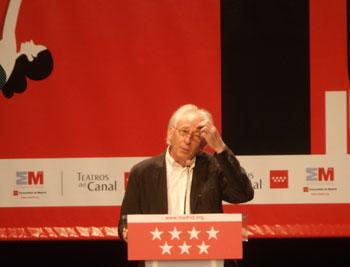 Albert Boadella durante la presentación de la nueva temporada