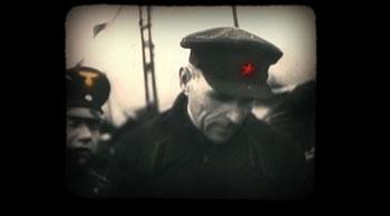 Fotograma de la película «Vivir de pie. Las guerras de Cipriano Mera»
