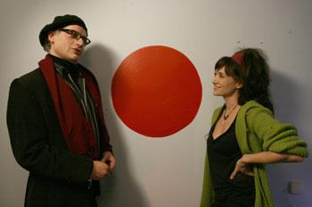 Nancho Novo y María Botto en una escena de «Animales de compañía»