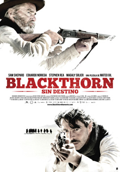Cartel de la película Blackthorn. Sin destino]