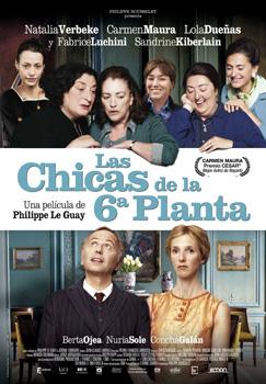 Cartel de la película Las chicas de la 6ª planta