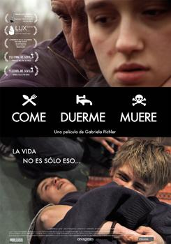 Cartel de la película Come, duerme, muere