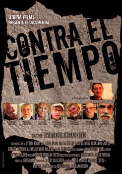 Cartel de la película documental Contra el tiempo