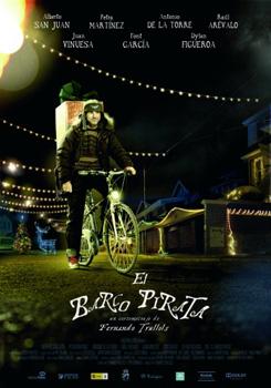 Cartel del cortometraje El barco pirata