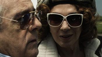 Antonio Gasalla y Graciela Borges en una escena de la película Dos hermanos
