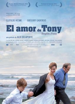Cartel de la película El amor de Tony