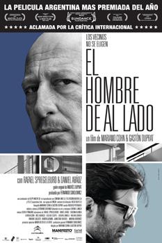 Cartel de la película El hombre de al lado
