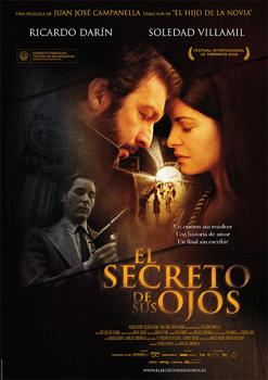 Cartel de la película «El secreto de sus ojos»