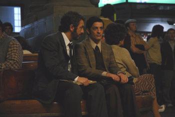 Ricardo Darín y Pablo Rago en una escena de «El secreto de sus ojos»