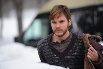 Daniel Brühl en una escena de la película Eva