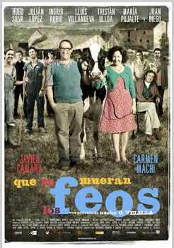 Cartel de la película Que se mueran los feos
