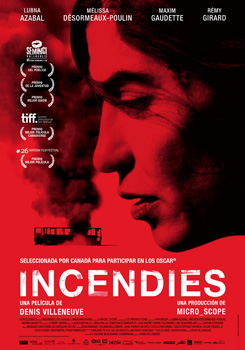 Cartel de la película Incendies