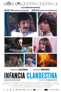 Cartel de la película Infancia clandestina
