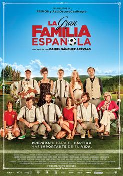 Cartel de la película La gran familia española