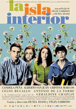Cartel de la película La isla interiore