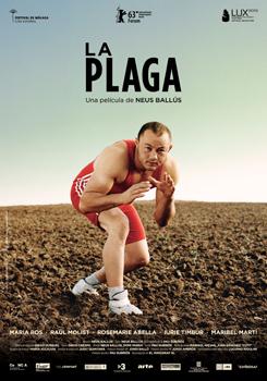 Cartel de la película La plaga, de Neus Ballús