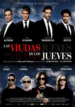 Cartel de la película Las viudas de los jueves