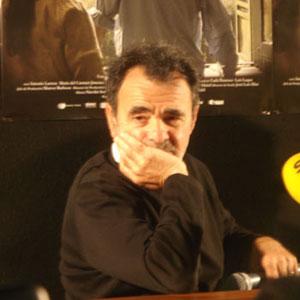 Carlos Sorín, director de «La ventana» durante la rueda de prensa