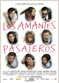 Cartel de la película Los amantes pasajeros