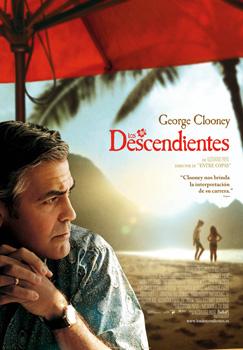 Cartel de la película Los descendientes