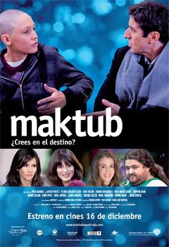 Cartel de la película Maktub