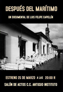 Cartel del documental Después del Marítimo