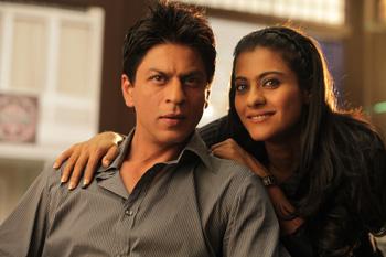 Shah Rukh Khan y Kajol Devgan en una escena de la película Mi nombre es Khan