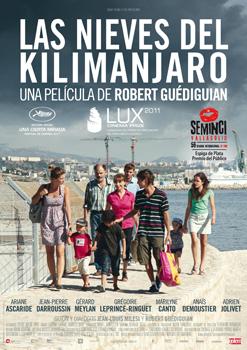 Cartel de la película Las nieves del Kilimanjaro