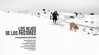 Cartel del corto documental Los hijos de los pastores