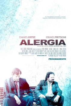 Cartel del cortometraje Alergia
