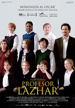 Cartel de la película Profesor Lazhar