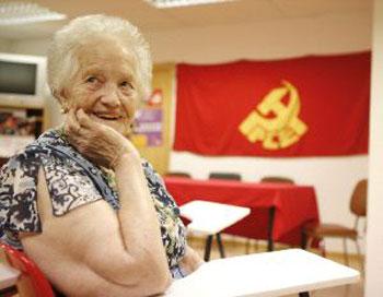 Concha Carretero, otra de las mujeres que ofrece su testimonio en el documental (Foto G. Villamil para el Norte de Castilla)