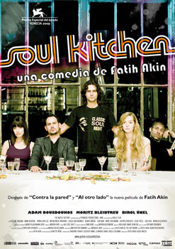 Cartel de la película Soul Kitchen