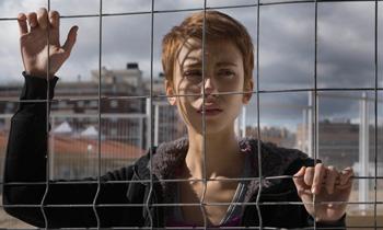 Alba García en una escena de la película Verbo
