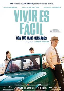 Cartel de la película Vivir es fácil con los ojos cerrados