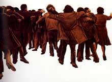 Juan Genovés: El abrazo