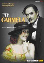 Cartel de la obra Ay Carmela