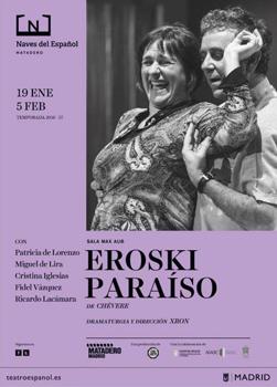 Cartel de la obra de teatro Eroski Paraíso
