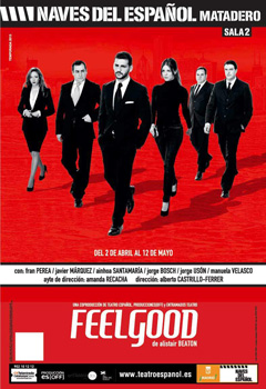 Cartel de la obra de teatro Feelgood