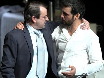 Jorge Bosch y Fran Perea en una escena de Feelgood